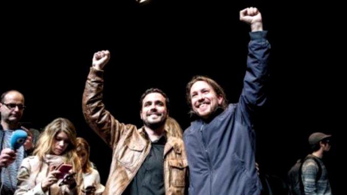 Podemos και Ενωμένη Αριστερά με κοινό ψηφοδέλτιο στις εκλογές