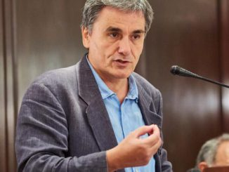 Greek finance minister Tsakalotos: The promise of socialism...