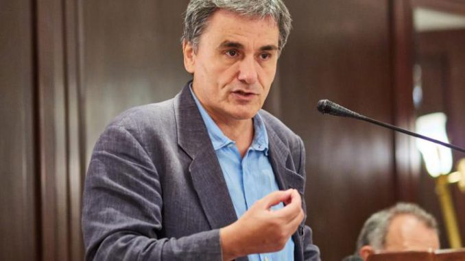 Greek finance minister Tsakalotos: The promise of socialism...