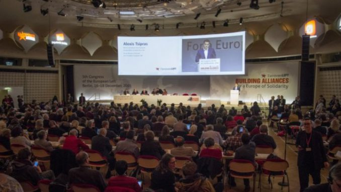 Alexis Tsipras: It is up to the Left to move Europe forward