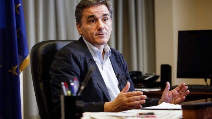 FinMin Tsakalotos: Wiederbelebung Europas mit der Gesellschaft an Bord