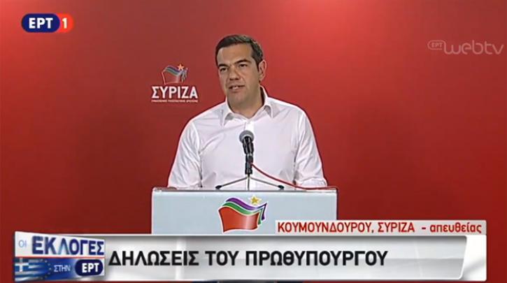 Alexis Tsipras: Über die Wahlbeurteilung und die Zukunft von Syriza